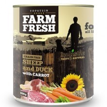 Farm Fresh konzerva Sheep & Duck with Carrot 800 g