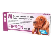 Fipron 134mg Spot-On Dog M sol 1x1,34 ml