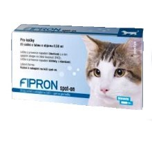 Fipron 50 mg Spot-On Cat sol 1x0,5 ml