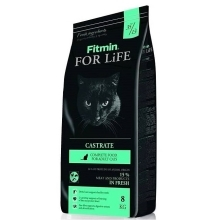Fitmin Cat For Life Castrate 8 kg
