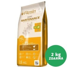 Fitmin Dog Mini Maintenance 15 + 2 kg ZDARMA