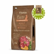 Fitmin Dog Purity GF Adult Beef 2 kg + pamlsky
