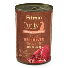 Fitmin Dog Purity konzerva Beef with Liver 400 g