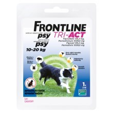 Frontline Tri-Act spot-on pro psy M (10-20 kg)
