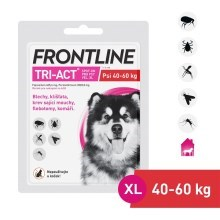 Frontline Tri-Act spot-on pro psy XL (40-60 kg)