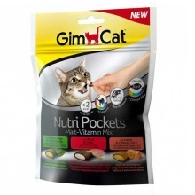 Gimcat Nutri Pockets malt+vitamin mix 150 g