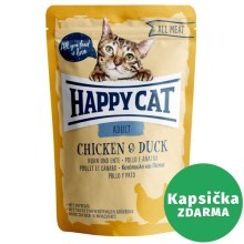 Happy Cat All Meat kapsička Adult Huhn & Ente 85 g