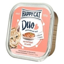 Happy Cat Duo Menu Geflügel & Lachs 100 g