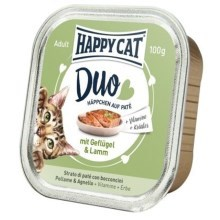 Happy Cat Duo Menu Geflügel & Lamm 100 g