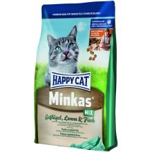 Happy Cat Minkas Mix drůbež, jehně, ryba 10 kg