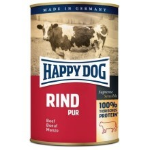Happy Dog Premium konzerva Rind Pur 400 g