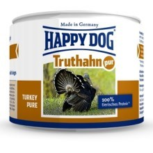 Happy Dog Premium konzerva Truthahn Pur 200 g