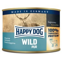 Happy Dog Premium konzerva Wild Pur 200 g