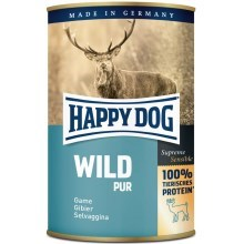 Happy Dog Premium konzerva Wild Pur 400 g