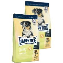 Happy Dog Supreme Baby Lamb & Rice Duo Pack 2 x 18 kg