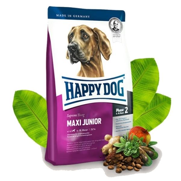 happy dog supreme maxi junior 15 kg. Black Bedroom Furniture Sets. Home Design Ideas