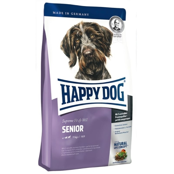happy dog supreme senior 12 5 kg. Black Bedroom Furniture Sets. Home Design Ideas