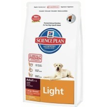 Hill's Canine Adult Light Large Breed Chicken 18 kg