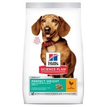 Hill's Canine Adult Perfect Weight Small & Mini Chicken 1,5 kg