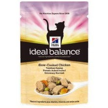 Hill's Feline Ideal Balance Adult kapsička Chicken & Vegetable 85 g