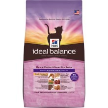 Hill's Feline Ideal Balance Mature Adult Chicken & Brown Rice 2 kg