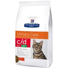 Hill's PD Feline c/d Urinary Stress Red Calorie Chicken 1,5 kg