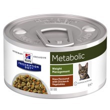 Hill's PD Feline Metabolic Stew Chicken & Vegetable 82 g