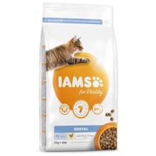 Iams Cat Adult Dental Chicken 2 kg