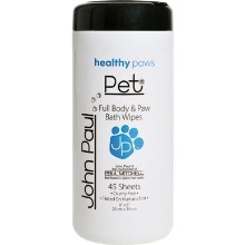 John Paul Pet Full Body & Paw Wipes vzorek