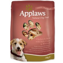 Kapsička Applaws Dog Chicken & Beef Veg Pouch 150 g