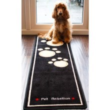 Kobercový běhoun Pet Rebellion Dog Runner Extra Long černý 150 cm