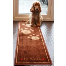 Kobercový běhoun Pet Rebellion Dog Runner Extra Long hnědý 150 cm