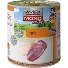 Konz. MACs Dog Mono Sensitive kachna 800 g