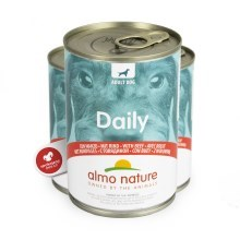 Konzerva Almo Nature Daily Menu Dog s hovězím 400 g