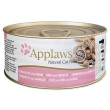 Konzerva Applaws Cat Tuna Fillet & Prawn 70 g