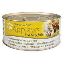 Konzerva Applaws Jelly Chicken & Mango 70 g