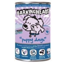 Konzerva Barking Heads Puppy Days Salmon 400 g