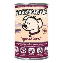 Konzerva Barking Heads Quackers 400 g