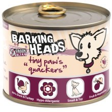 Konzerva Barking Heads Tiny Paws Quackers 200 g