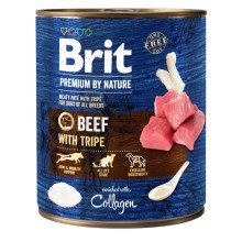 Konzerva Brit Premium by Nature Beef & Tripes 800 g