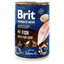 Konzerva Brit Premium by Nature Fish & Fish Skin 400 g