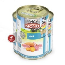 Mac's Dog konzerva Mono Sensitive jehně 400 g