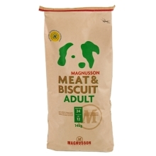 2x Magnusson Meat & Biscuit Adult 14 kg