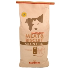 2x Magnusson Meat & Biscuit Grain Free 14 kg
