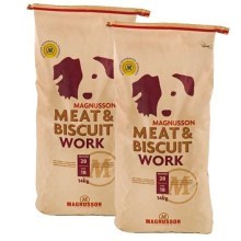 Magnusson Meat & Biscuit Work Duo Pack 2x14 kg