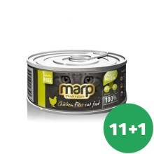 Marp Cat konzerva Chicken Breast Filet 12x 70g (11+1 ZDARMA)