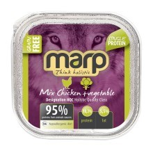 Marp Holistic Dog vanička Mix Chicken & Vegetable 100 g