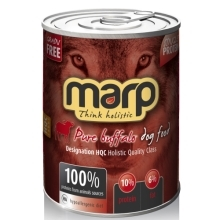 6x Marp holistic Pure Buffalo Dog Can Food 400 g