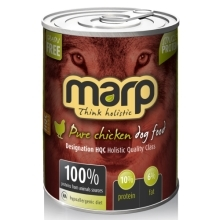 6x Marp holistic Pure Chicken Dog Can Food 400 g