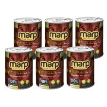 Marp holistic Pure Chicken Dog Can Food 6x 400 g